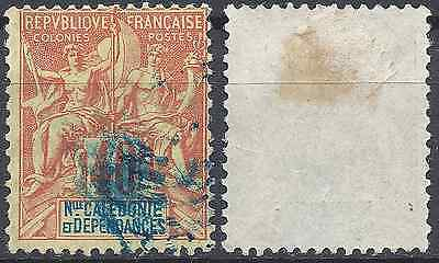 Colony New Caledonia N°50 - Obliteration A Date Stamp - Value