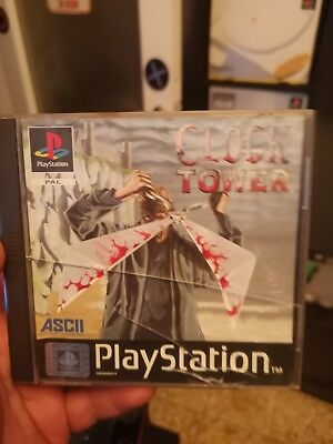 Clock Tower Ps1 covers n manual only