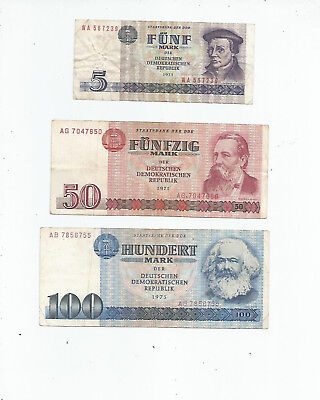 East  Germany  Three  Notes