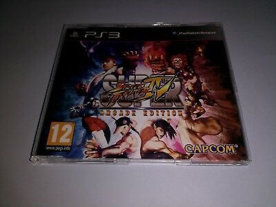 Super Street Fighter 4 Arcade Edition Promo PlayStation 3