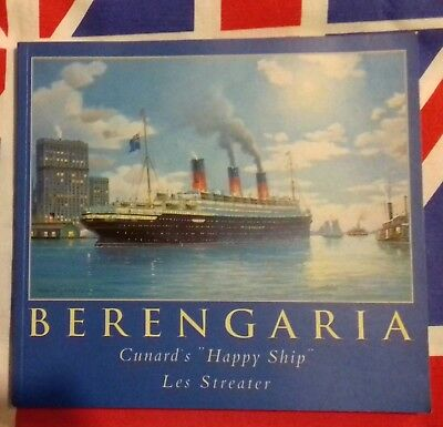 Berengaria  Cunard's Happy Ship  By Les Streater  2001  Steam Ship Liner
