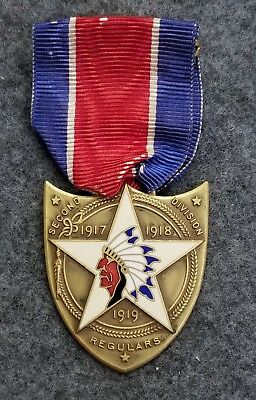 Wwi 2Nd Division Honorable Service Medal...named