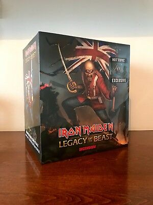Iron Maiden The Trooper Hot Topic USA Exclusive 1:10 Statue Legacy Of The Beast