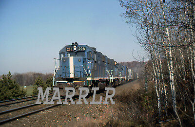 RR Print-Boston & Maine BM 208 on 11/7/1978