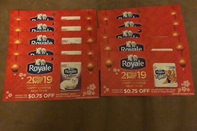 Royale Coupons (5 x $0.75 off bathroom tissue, and 5 x $0.75 off paper towels)