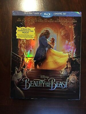 Disney Beauty and the Beast (Blu-ray/DVD) NO Digital
