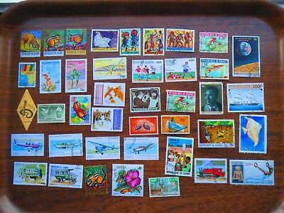 40  Guinea  Stamps