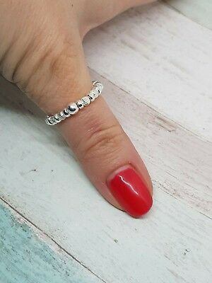 925 Sterling Silver Stretch Ring, Stack Ring, Toe Ring, Thumb Ring, All Sizes