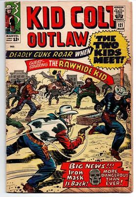 Kid Colt Outlaw #121 Marvel Comics 1965 With The Rawhide Kid