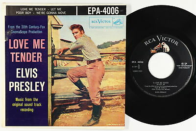 Elvis Presley Picture Sleeve EP - Love Me Tender - RCA Victor EPA 4006 - mp3
