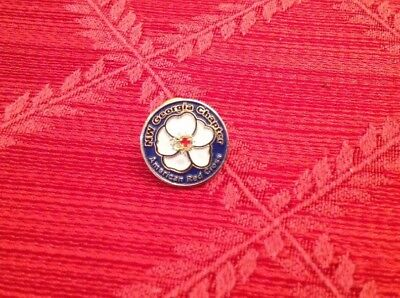 Vintage American Red Cross Chapter Pin From NW Georgia Pre-owned