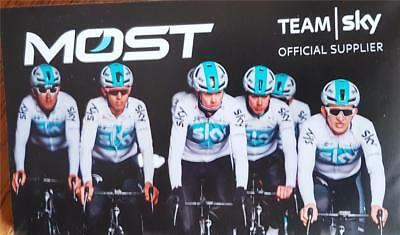 MOST 2019 mini-Catalog/brochure, foldout pages, Team Sky Official Supplier