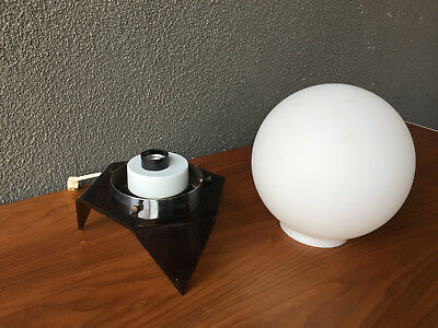 Sound Sensor Table Lamp Mid Century Modern Vintage Eames Space Age Pop Art Era