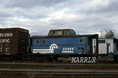 RR Print-Conrail CR 23055 at S Framingham Ma 10/22/1989