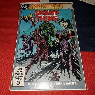 Saga of the Swamp Thing #50 - DC Comics - Alan Moore Watchmen V For Vendetta