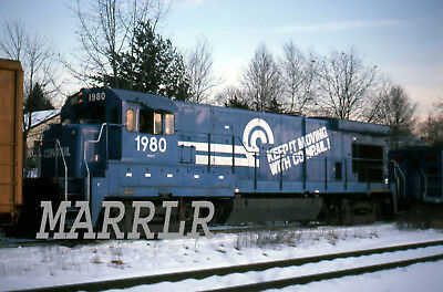 RR Print-Conrail CR 1980 on 2/14/1980