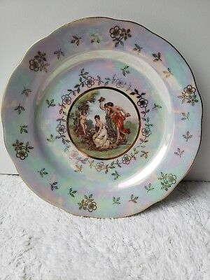 BA ARIA East ,  Painted Ladies In The Garden Display plate collectable  art