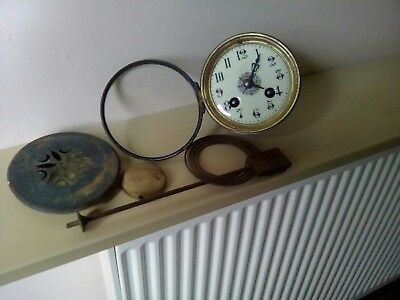 Antique French Clock Parts Job Lot