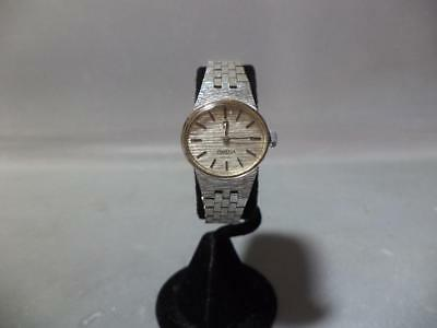 VTG Omega Geneve Gold Plate 10 Mic 1070 Cal. Ladies Manual Wind Watch RUNS GREAT