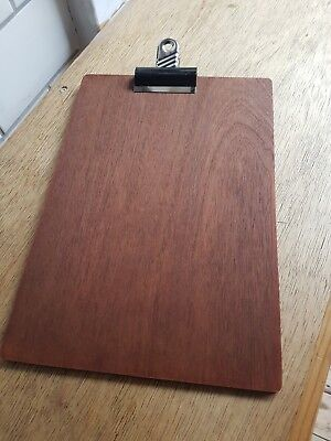 A4 Wooden Clip Board with Clips