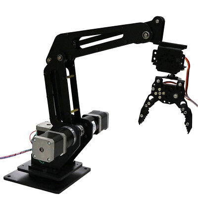 Writing Engraving 3 DOF Metal Programmable Robotic Arm Wireless Control