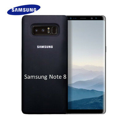 Cover Samsung Originale Note 8 Silicone Soft-touch finish in Blister