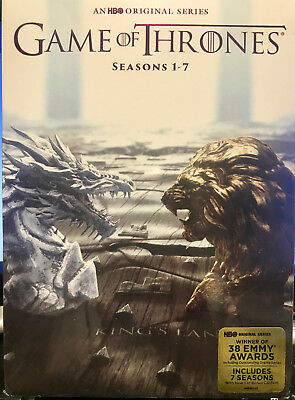 Game of Thrones: The Complete Seasons 1-7 (DVD, 2017,34-Disc) Sealed