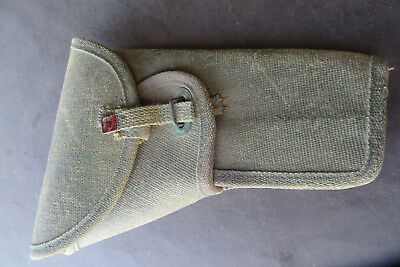 1945 Genuine Canadian S&w 38 Special Pistol / Gun Holster Broadarrow
