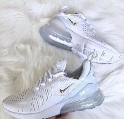 LADIES NEW NIKE Air Max 270 Custom Bling With Swarovski Crystals ... 2c6a4a8c8