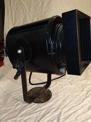 Grand Projecteur Cremer noir Cinema Theatre Vintage Loft dans son jus design