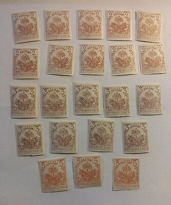 Large old Haiti collection 1893 MNH rare