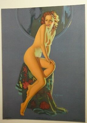 LOVELY TO LOOK AT, NUDE, Beautiful Pin up original from the 50 ' s by K.Munson