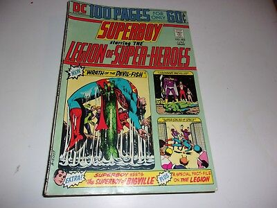Superboy and Legion of Super-Heroes # 202--100 Page  Giant--6 different stories