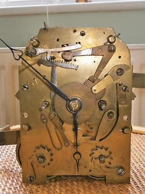 Double Fusee Chain Driven 8 Day Striking Movement Pendulem Dial Bell Hands ect.
