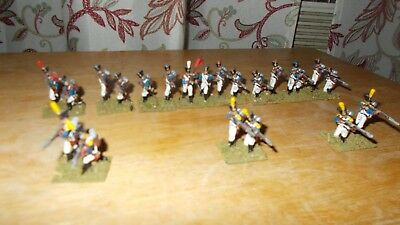 25 mm Lead Napoleonic French Line Infantry made from Prince August Molds