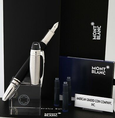 Montblanc StarWalker Doue:Resin/Platinum Nib (M) Fountain #38009- Amazing & NEW!