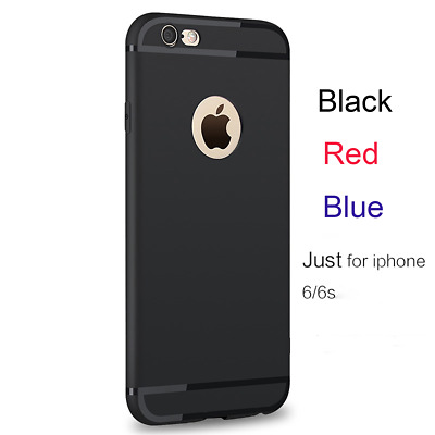 Cover per Iphone 6/6s Custodia Apple in Silicone + Vetro Pellicola Temperato 9H