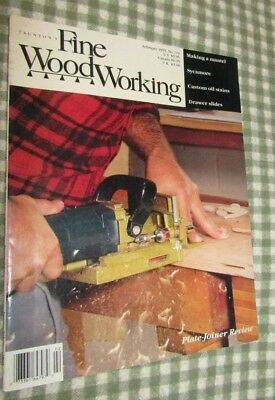 Taunton's FINE WOODWORKING Magazine February 1995 #110 Making a mantel-sycamore+