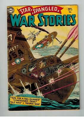 Dc Star Spangled War Stories # 27 Nov 1954 Taps For A Tail Gunner &other Stories