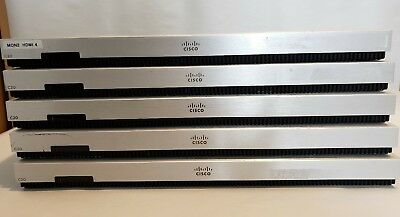 Lot of 5 Cisco Tandberg Telepresence C20 Video Conference  (TTC7-18) - BASE ONLY