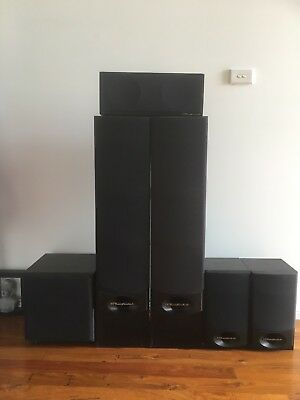 Wharfedale Speakers And Sub Woofer