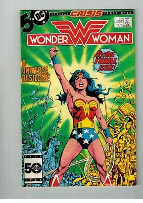 Dc Wonder Woman #329 48 Page Final Issue A Universe Besieged Cross Over Feb 1988