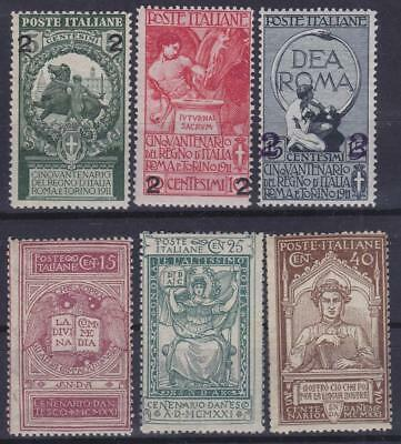 ITALY 1913-21 / 2 complete sets MNH, MH T0829