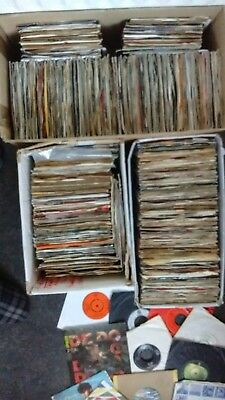 Job Lot Of 990 Singles 45 Records 1970=2000.(Collection Only)