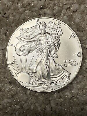 2016 American Eagle Silver Dollar 1 Troy oz.