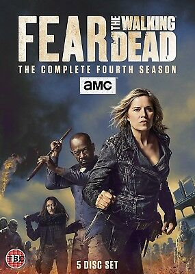 Fear The Walking Dead Season 4 - DVD NEW and SEALED
