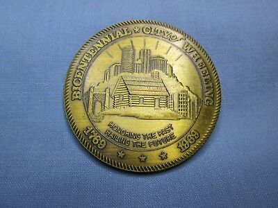 Wheeling, West Virginia Bicentennial Commemorative Souvenir Medal
