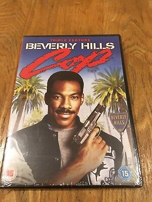 Beverly Hills Cop DVD Video Triple Feature All Three Movies New