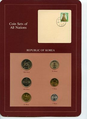 Franklin Mint: Republic of Korea Coin Sets of All Nations