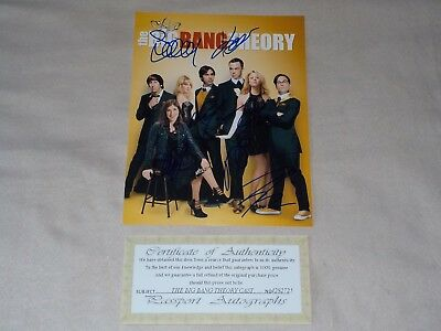 The Big Bang Theory Cast Schauspieler Autogramme signiert autographed signed COA